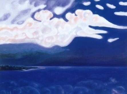 Sigrun Neumann (Sineu) - the night-cloud-train rushes over the sea