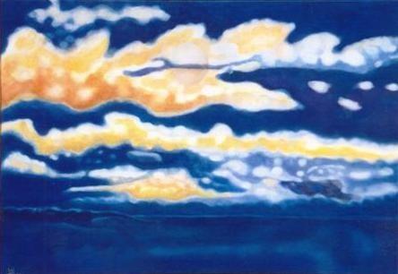 la mer se repose ... le ciel danse