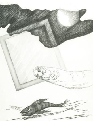 illustration / Forugh Farrochsad 1