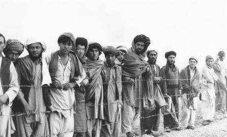 Afghani-Refugees camp  in Peshawar