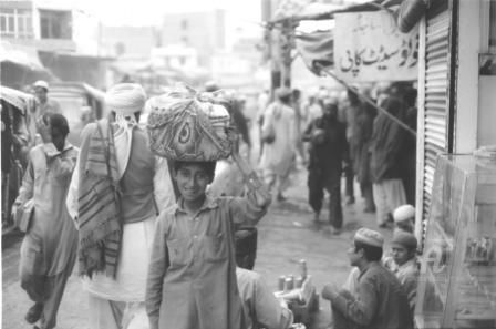 in the street in Old Town /Lahore