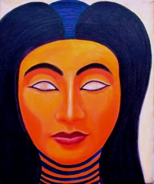 sigrun neumann (sineu) - (le printemps des femmes egyptiennes) *Nefertiti-Tahrir* souffle d'elle